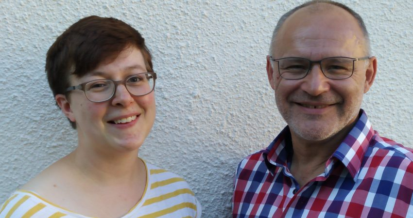 Fraktionsvorsitzende Bündnis 90/Die Grünen_Claudia Stölzel und Andreas Körner